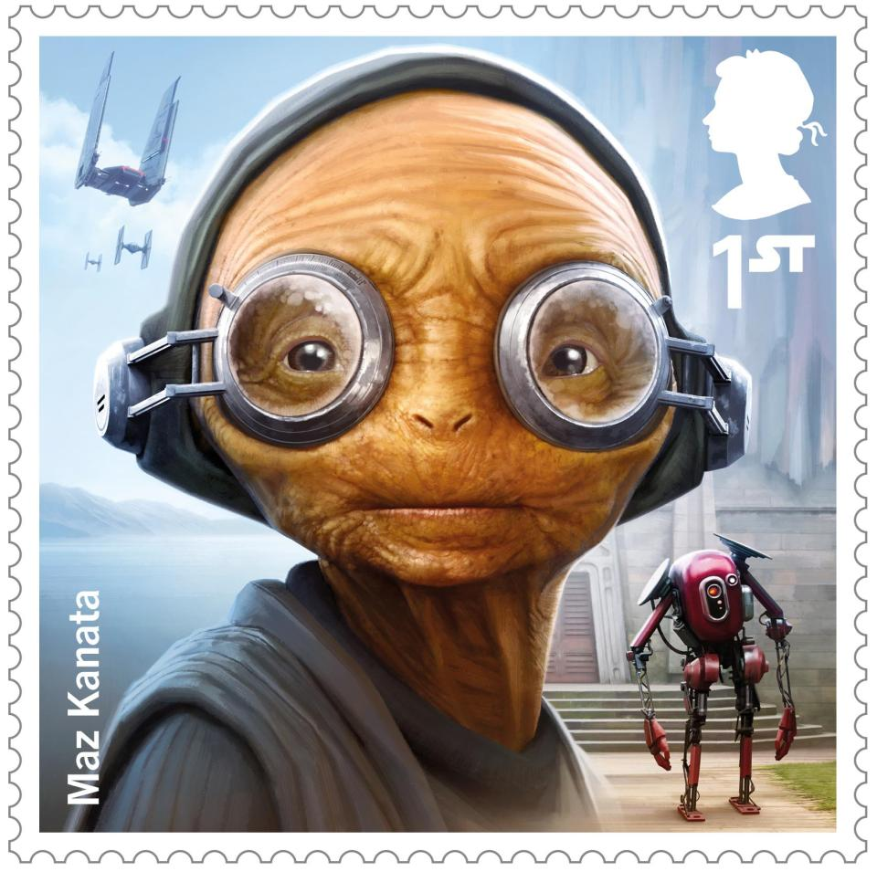 New Star Wars stamps from the Royal Mail