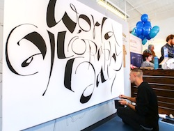 Success for first World Calligraphy Day