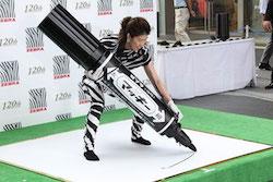 Zebra Japan's marker pen breaks world record