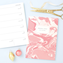 Gift product focus: Papier launches bespoke 2018 planners