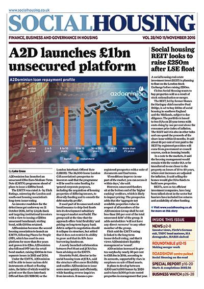 Social Housing Digital Edition - November 2016