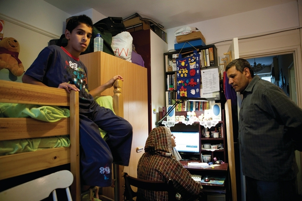 Landlord can't rehouse 'bedroom tax' families