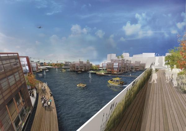 London mayor sets out vision for 'floating village'