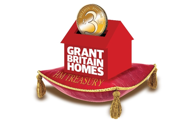Osborne grants Britain homes