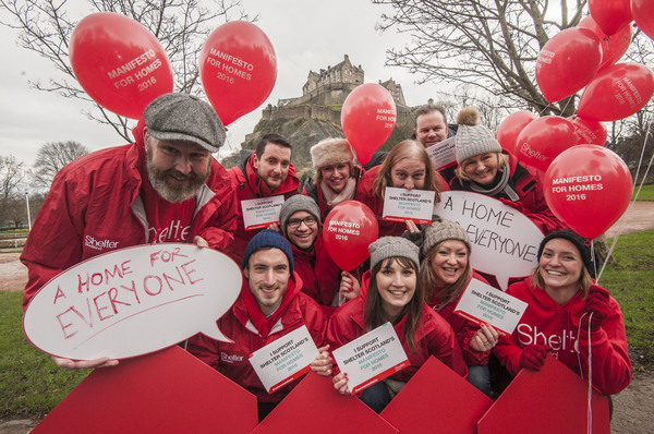 Shelter Scotland launches election campaign