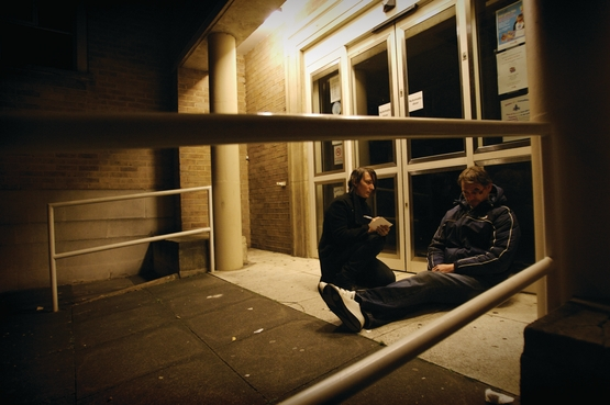 CLG funding handed out to rough sleeping projects