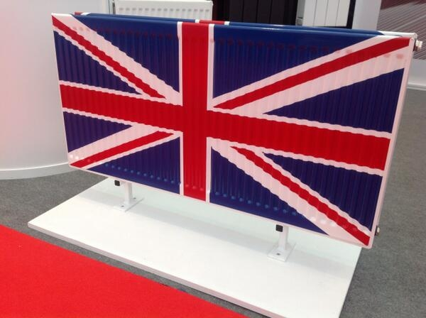 Quinn flying the flag for British manufacturing at CIH Housing