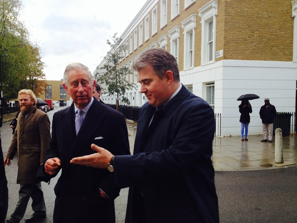 Prince of Wales: communities must be involved in regeneration