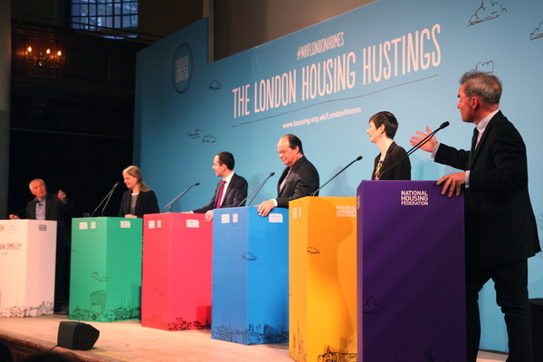 Major candidates snub housing hustings