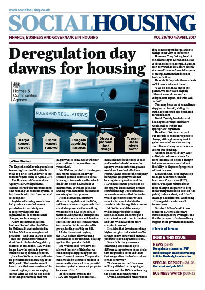 Social Housing Digital Edition - April 2017