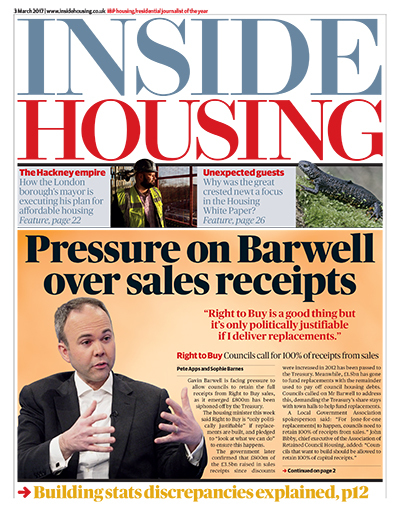 Inside Housing Digital Edition - 3 March 2017