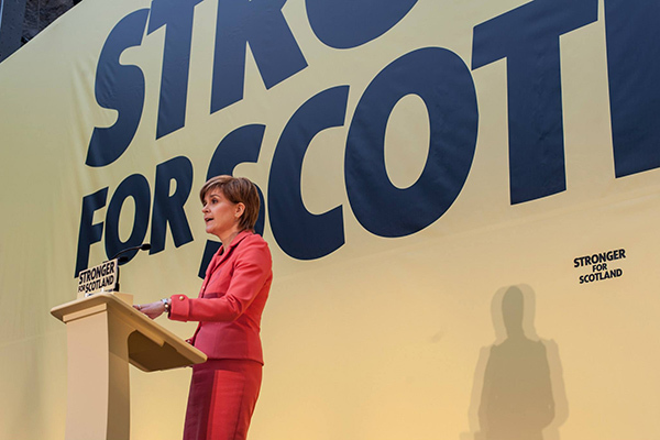 Sturgeon announces new rough sleeping measures