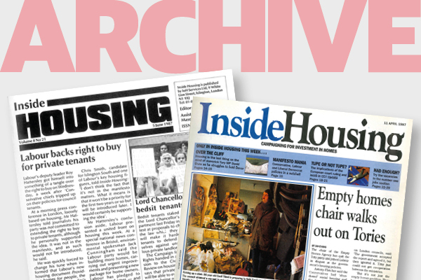 From the archive - warnings over housing association grant cuts