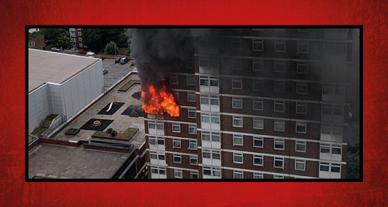 Revealed: external panels probable cause of huge tower block fire spread