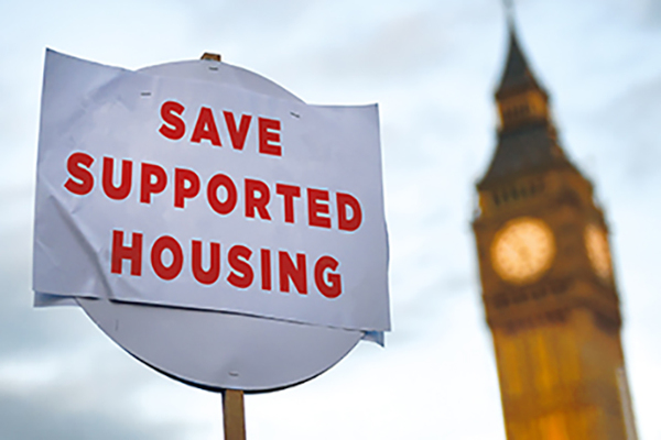LHA cap sees fall in supported housing schemes, survey finds