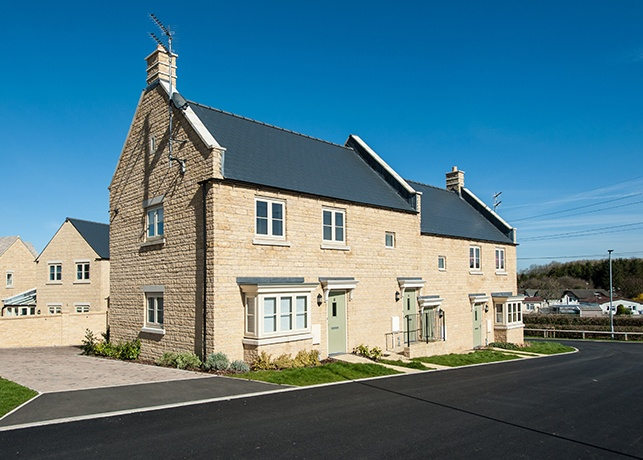 Stonewater's Pemberly scheme, with 46 affordable homes in Littlemore, near Weymouth