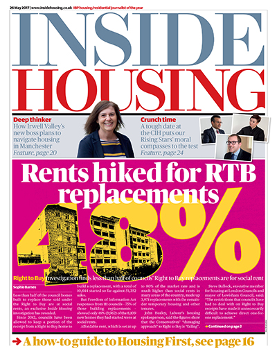Inside Housing Digital Edition - 26 May 2017