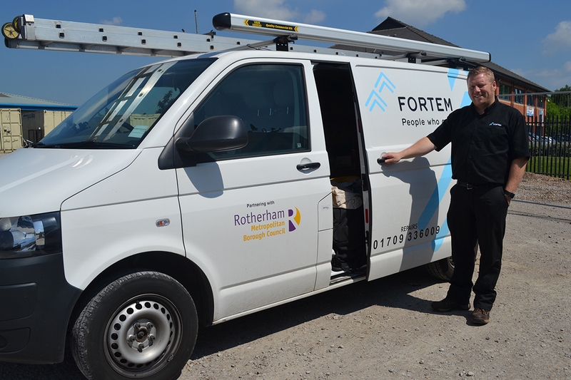 Fortem repairs and maintenance worker