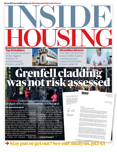Inside Housing Digital Edition - 30 June 2017