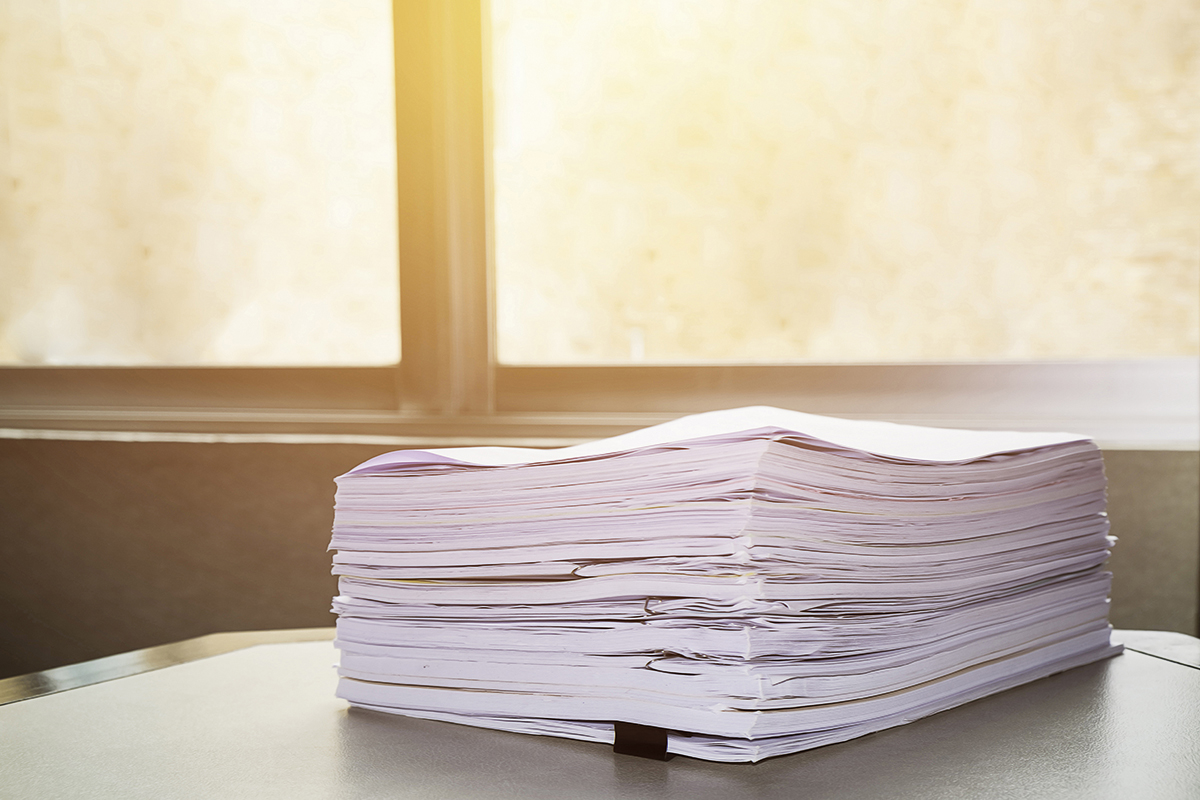 Leaving a procurement paper trail