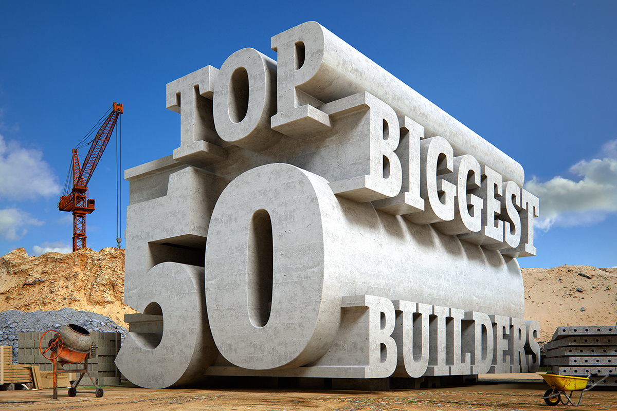 Top 50 Biggest Builders survey