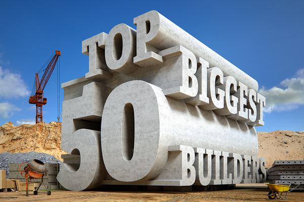 Top 50 Biggest Builders survey