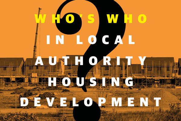 Who's who in local authority housing development