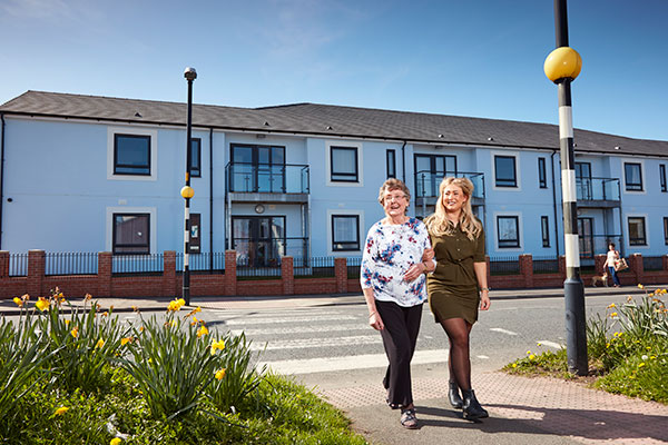 Home Group's Fairview Court development in Wigton