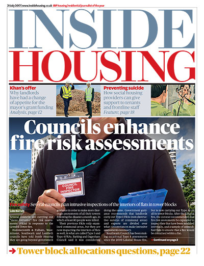Inside Housing Digital Edition - 21 July 2017