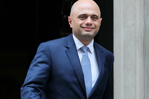 Cladding can 'fail' in strong winds, Javid reveals