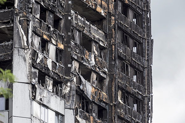 Grenfell cladding panels were primary cause of external fire spread, inquiry hears