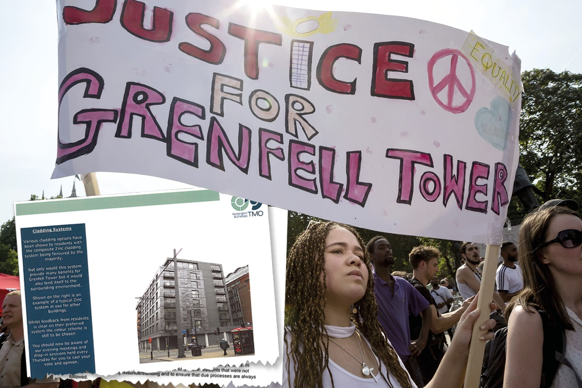 Grenfell: the paper trail
