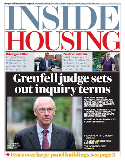 Inside Housing Digital Edition - 18 August 2017