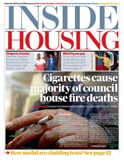Inside Housing Digital Edition - 1 September 2017