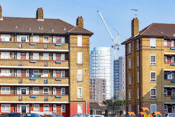 London needs £4.9bn a year in affordable housing grant, say Khan and G15