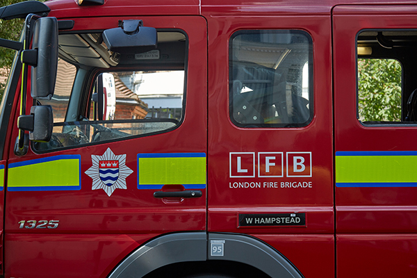 London sees dip in home visits by firefighters