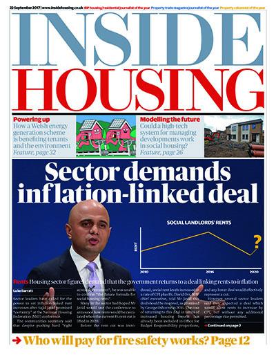 Inside Housing Digital Edition - 22 September 2017