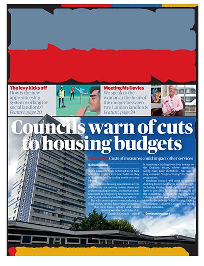 Inside Housing Digital Edition - 15 September 2017