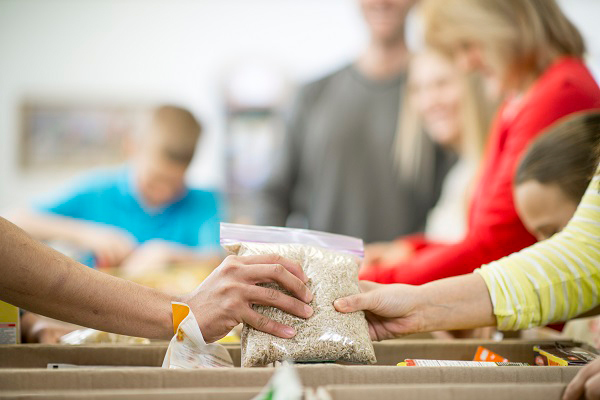 Research found that demand for food parcels is set to soar by 61% this winter (picture: Getty)