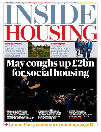 Inside Housing Digital Edition - 06 October 2017