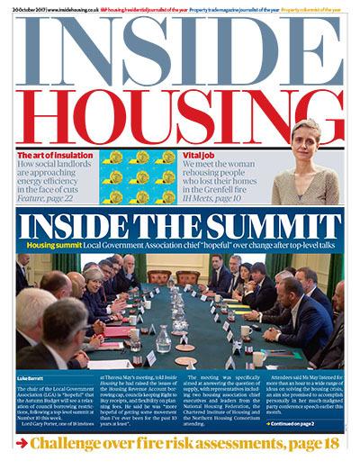 Inside Housing Digital Edition - 20 October 2017