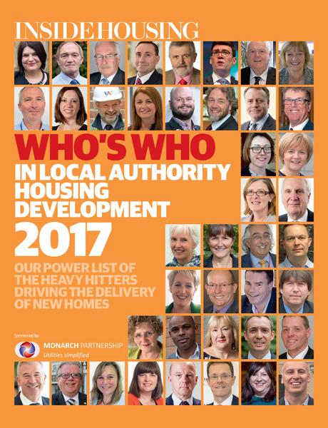 Inside Housing Who's Who Supplement - 02 November 2017
