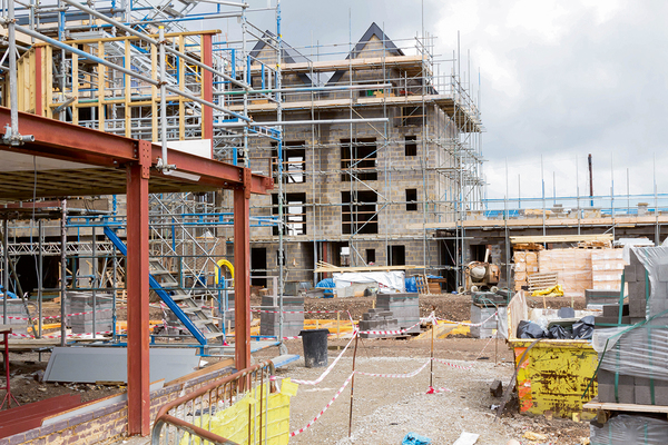 Housebuilding in Wales tumbles to lowest level in four years
