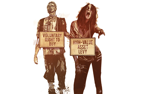 The zombie housing policies: what has happened to the Right to Buy extension and high-value asset levy?