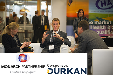 Monarch Partnership Local Authority Lounge, co-sponsored by Durkan