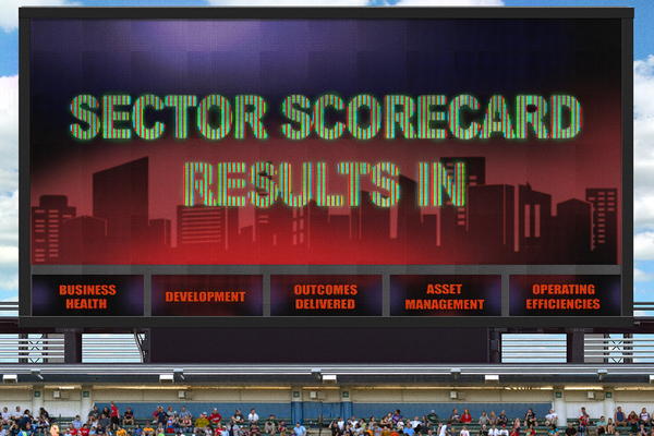 The Sector Scorecard pilot results are in