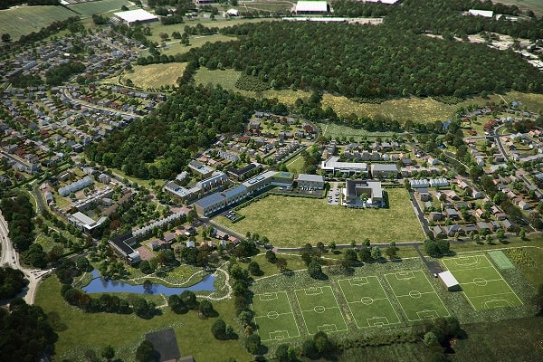 Bromford selected as partner on UK's largest self-build site