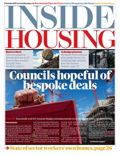 Inside Housing Digital Edition - 17 November 2017