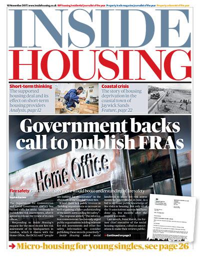 Inside Housing Digital Edition - 10 November 2017