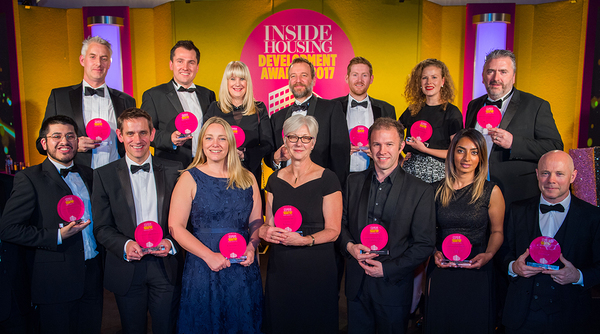 Winners of Inside Housing Development Awards announced